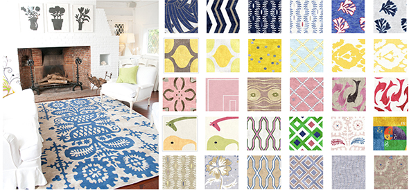 Pick from any of Custom Cool's bright, bouncy designs to customize your perfect rug - GoodWeave certified!